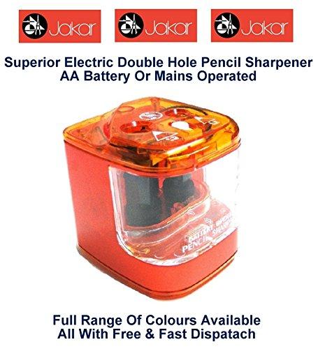 Jakar Orange E-Loch-Anspitzer, Batterie- oder wichtigsten batteriebetrieben, Batterien vom Typ AA...