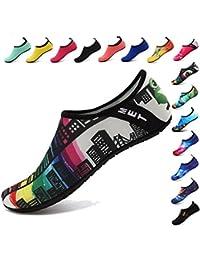 BOLOG Zapatos de Niño Zapatos de Agua de Natación Infantil para Niños Niñas  Adolescentes Slip on 6ffe4ff3be3