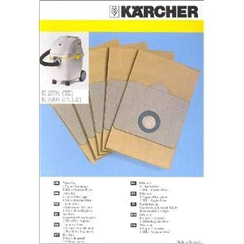 5-20 Vlies Staubsaugerbeutel geeignet für  Kärcher K 2801 Plus K2801