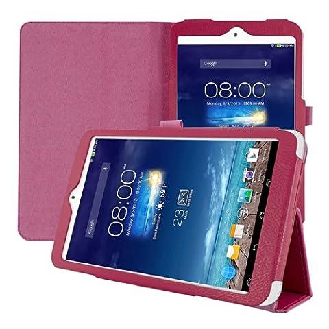kwmobile Hülle für Asus Memo Pad 8 ME180A - Tabletcover Slim Case Tablet Schutzhülle - Smart Cover Tabletcase Pink