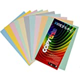 Creative World Of Crafts - Carta colorata, 160 gsm formato A3, 100 fogli in colori pastello assortiti