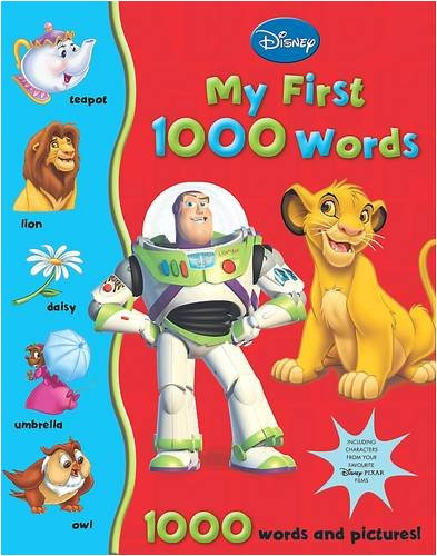 Disney First 1000 Words: My Big Book of Words por Thea Feldman