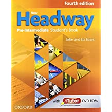 New Headway Pre-Intermediate. Student's Book + Workbook with Key Pack 4th Edition (New Headway Fourth Edition)