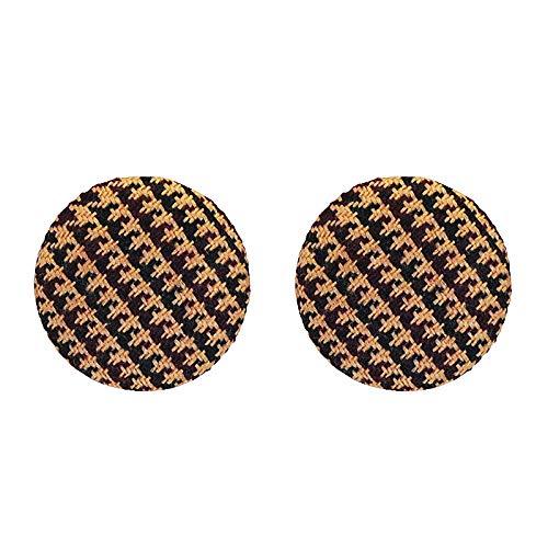 Schmuck Weiblich Legierung Persönlichkeit Knopfform Ziemlich Mode Ohrstecker Ohrring Ohrring Weihnachtsferien Geschenk Qualität Von Berühmt Marken/A/Als zeigen