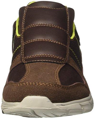 Geka Brighton, Sneaker Thread Homme Brun (braun / Citron Braun / Citron)