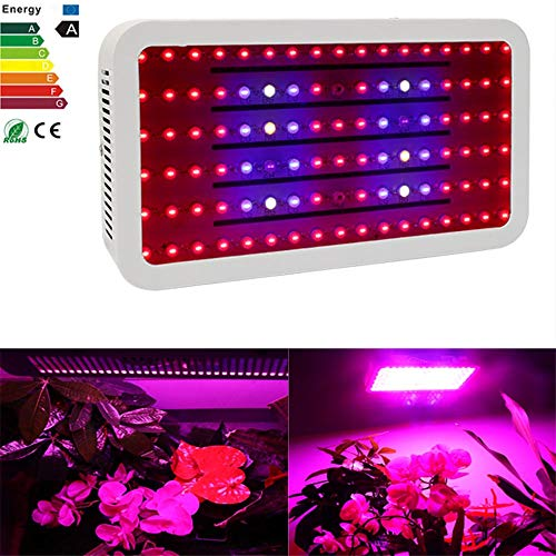 1000W LED Grow Lampe Full Spectrum mit 102PCS für Indoor Plant Veg und Bloom für Greenhouse Indoor Plant Veg und Flowering -