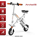 AIRWHEEL E6 Elektrofahrrad E-Fahrrad mit Motor Mini E-Bike Klapprad Damen Herren Weiß