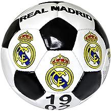 Real Madrid, balón de futbol ,  tamaño 5 , blanco y negro