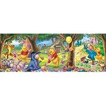 Clementoni - Puzzle panorámico con Winnie the Pooh, 160 piezas (28029.2)