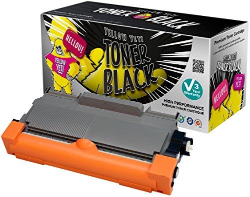 Yellow yeti tn2220 tn2010 (2600 pagine) toner compatibile per brother hl-2220 hl-2240 hl-2130 hl-2132 hl-2135w hl-2230 hl-2240d hl-2250dn hl-2270dw fax-2840 fax-2940 mfc-7360n mfc-7460dn mfc-7460n mfc-7860dw dcp-7055 dcp-7055w dcp-7057 dcp-7060d dcp-7065dn dcp-7070dw [3 anni di garanzia]