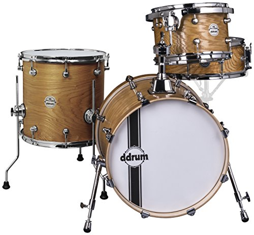 Ddrum se Flyer NAT Ash Shell Pack drum set con strato esterno Ash