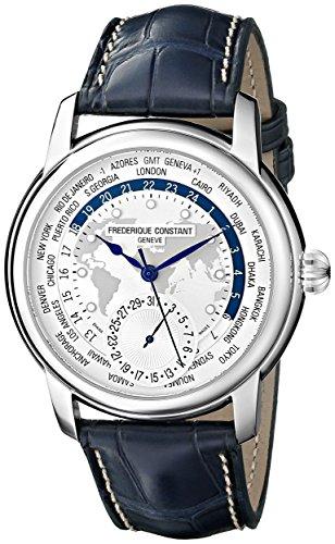 Herren Binär Automatik Uhr mit Leder Armband FC-718WM4H6 ()