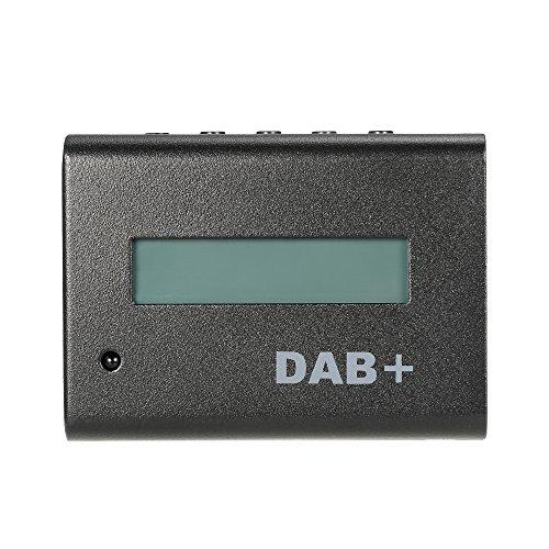 KKmoon Universal 12V Auto Digitalradio DAB + Audio-Receiver Kit mit Kfz-Ladegerät / Fernbedienung / Antenne Universal-digital-fm-transmitter