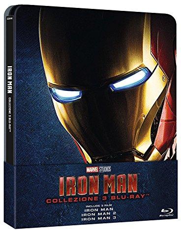 iron man trilogia steelbook 3 bluray
