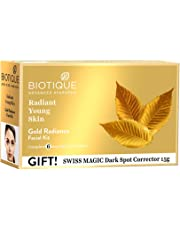 Biotique Bio Gold Radiance Facial Kit, 65 g