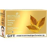 Biotique Bio Gold Radiance Facial Kit, 65 g