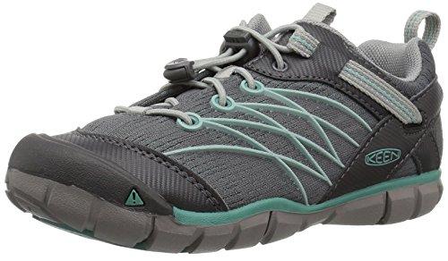 KEEN Chandler CNX Hiking Shoe, Steel Grey/Wasabi, 6 M US 6m Schuhe