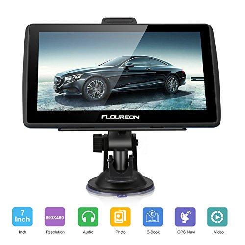 FLOUREON GPS de Coches Navigation Pantalla LCD capacitiva de 7 Pulgadas Sat...