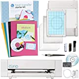 Silhouette America Curio Cabinet Digital Crafting Machine with Heat Transfer Starter Kit by Silhouette America