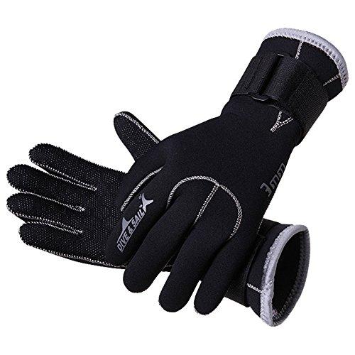 Gants de plongée, néoprène de 3 mm antidérapant, gants d