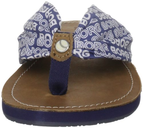 Björn Borg Footwear LUCIE 1211107201, Infradito donna Blu (Blau (NAVY MULTI 7399))