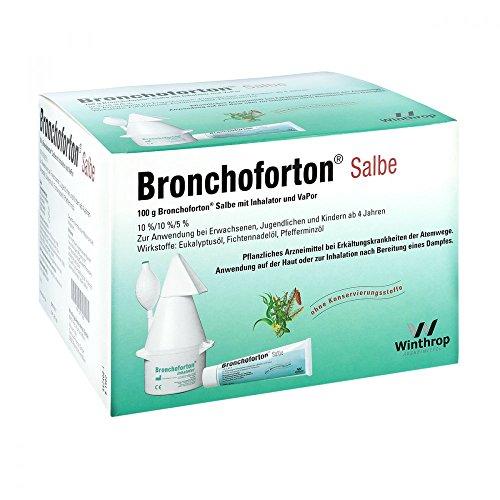 BRONCHOFORTON Inhal./Salbe+Vapor. Kombipackung 1 P Kombipackung