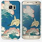 Coque Samsung Galaxy S7 de chez Skinkin - Design original : Peonies and Canary par Katsushika Hokusai