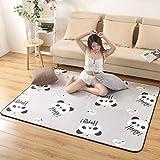 GHGYUF Livingroom Home Soft Bedroom Carpets Sofa Coffee Table Rug Study Floor Mat Crawling Rugs Mats,11,45cmx75cm