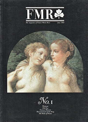 FMR, the Magazine of Franco Maria Ricci - No. 1, June 1984 - Engish Edition