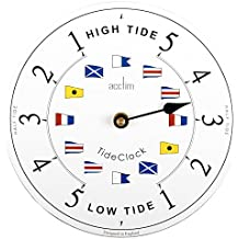 Acctim 24682 Ryde Horloge murale (Blanc)