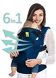 LILLEbaby SECHS Positionen, 360 Ergonomische Baby & Kindtrage - für ALLE Jahreszeiten (Navy)