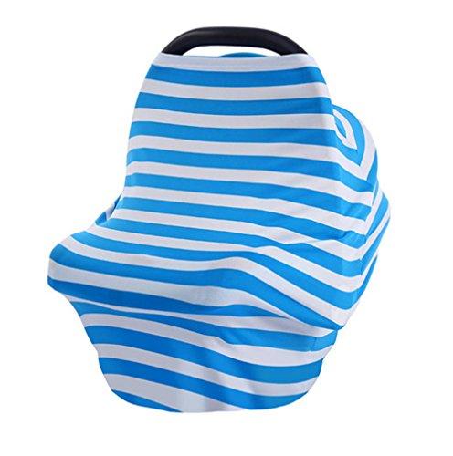2017New Baby coprisedili auto tettuccio allattamento copertura multiuso elastico infinity sciarpa allattamento shopping auto di alta della sedia da donna tops T shirt