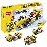 Akrobo Decool 121 Pieces 3 in 1 Architect Super Racer DIY Block Construction Set Toy