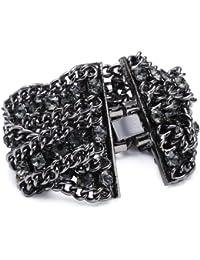 Sweet Deluxe Damen-Armband Vanessa black diamond 19 cm 00102