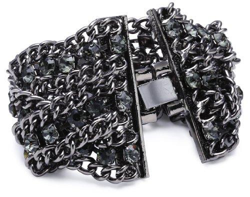 Sweet Deluxe Damen-Armband Vanessa black diamond 19 cm 00102 (Deluxe-armband)