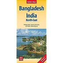 Nelles Map Landkarte Bangladesh; India: North-East: 1:1.500.000 (Nelles Map / Strassenkarte)