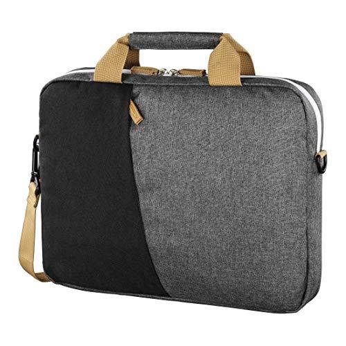 Laptoptasche bis 40 cm (15,6 Zoll) schwarz/grau