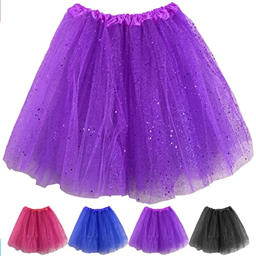 Ladies Pink or Purple Party Tutu in sizes 8 to 14