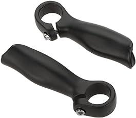 Docooler 2PCS Fahrrad Mountain Bike Fahrrad MTB Lenker Ende Aluminiumlegierung Sicherheit Griffe 22,2 mm