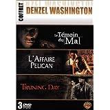 Coffret Denzel Washington 3 DVD : L'Affaire Pélican / Training Day / Le Témoin du mal