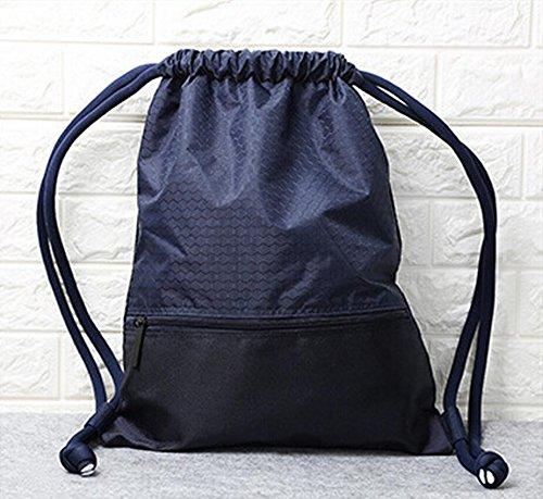 Rucksack Gym Fitnesscenter, gzqes, Handtaschen für Männer Frauen, Fitness Tasche, Rucksack für Klettern, Sport Tasche, 45x 35cm Dunkelblau