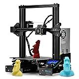 SainSmart x Creality Ender-3 3D-Drucker, Lebenslauf Drucken V-Slot Prusa i3, für Home & School Verwendung, 8,7 x 8,7 x 9,8' Build Plate