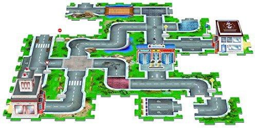 3-D Stadt, 3 Bauwerke, 55 tlg. und Straßensystem 25 tlg. zum stecken