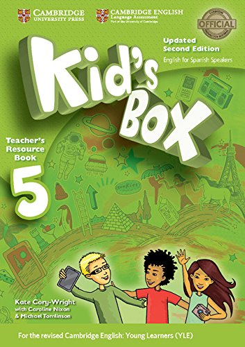 Kid's Box Level 5 Teacher's Resource Book with Audio CDs (2) Updated English for Spanish Speakers Second Edition  - Pack de 3 libros - 9788490361597 por Kate Cory-Wright