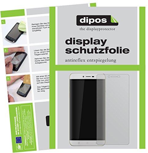 dipos I 6X Schutzfolie matt passend für Coolpad Torino R108 Folie Bildschirmschutzfolie