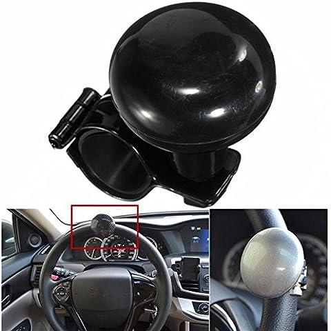 Yongse Auto Heavy Duty Steering Wheel Spinner della manopola della maniglia con gomma Mat
