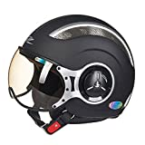 XINFUKL Allighty Helm Sicherheit Sonnenschirm Belüftung Modularer Helm Motocross Helm Warmen Anti-Fog Abnehmbar,4-XL