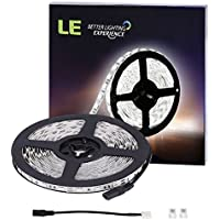 LE Strisce flessibile a LED 5m, Bianca Diurna 300 Unità 5050 LEDs 12V