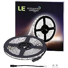 LE Tira LED 5m 300 LED 5050 Blanco frío 720 lúmenes por metro Luz blanca potente