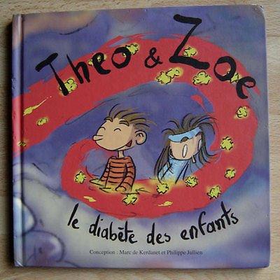 Théo et Zoé le diabète des enfants